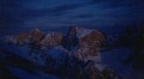Cağılın Başı Kuzey kar kulvarıdan Beşparmak sivrisi, Çağılınbaşı zirve Çıkışı ve Traversi